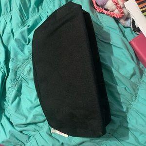 Pink Victoria's Secret large make up bag NWT